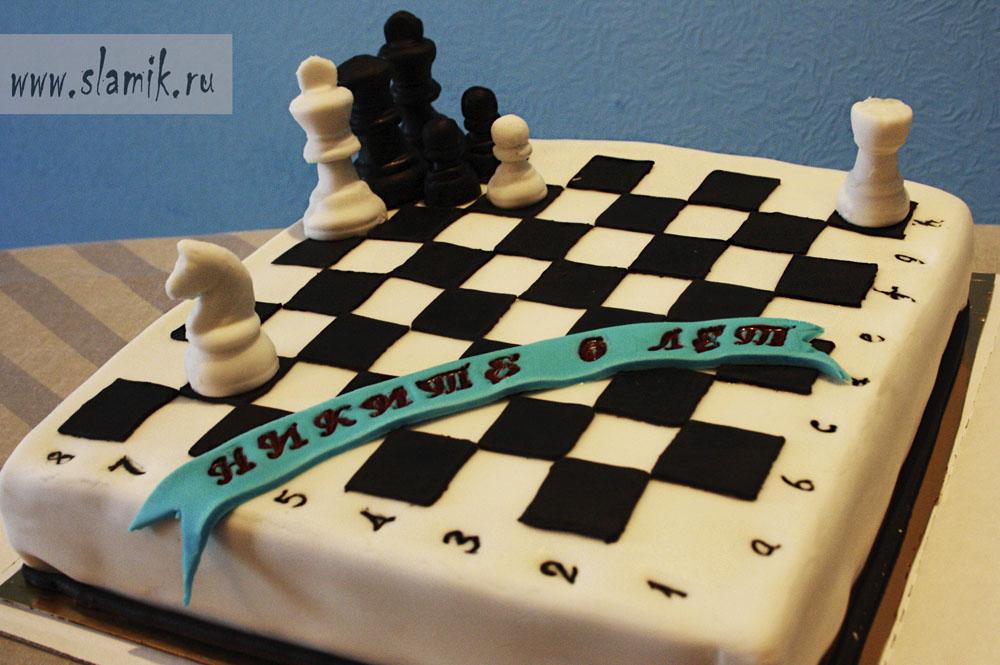 Торт шахматная доска рецепт с фото