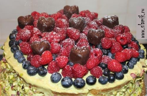 Настоящий ягодный торт