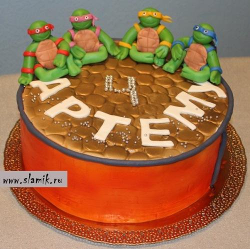 Торт Черепашки-ниндзя