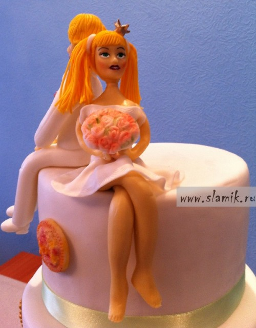Торт Трубадур и его Принцесса